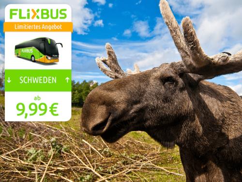 [Flixbus] ab 9,99€ nach Göteborg und Stockholm